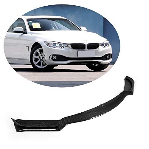 MCARCAR KIT Front Bumper Lip fits BMW 4 Series F32 F33 F36 Base 2Door 4Door 2014-2018 Add-on 418i 420i 428i 435i 440i Car Chin Spoiler Splitter Protector (Carbon Fiber CF)