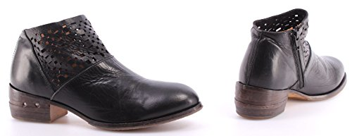 MOMA Negro Zapatos Nero Boots Toscana 32703 Italy Ankle TA Mujer Botines Vintage Rqx4TE
