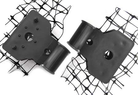 Bird Net Mounting Clip, 4 lb, PK250 ()