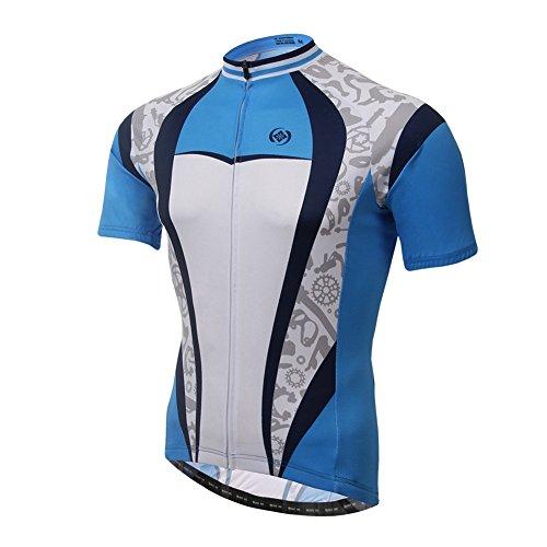 Blueprint Jersey - Xinzechen Cycling Jersey Short Sleeve Breathable Blueprint Size XXXL
