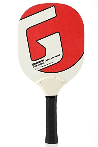 Gamma Sports Pickleball Wood Paddle: Affordable Wooden Party Games Paddles for Gym, Lawn Games, Outdoor Camping, Beach Sports & BBQ - A Classic Backyard Adult & Kids - Bar Ferrari