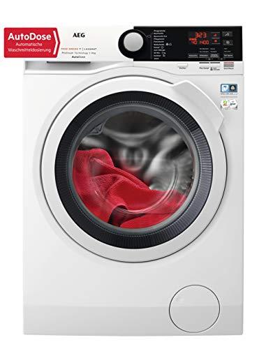 AEG L7FB78490 Waschmaschine / 9 kg / Waschvollautomat mit AutoDose – automatische Waschmitteldosierung / Mit…