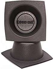 DEI 050331 Boom Mat 6.5-Inch Round Slim Speaker Baffle-Pack of 2