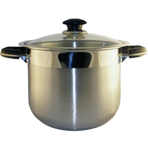 Prime Pacific Stainless Steel 25 Quart Stock Pot
