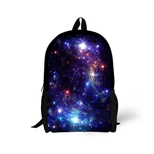Bigcardesigns Galaxy Backpack for Girls School Book Bag Teenagers