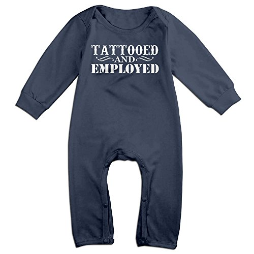 [HOHOE Babys Tattooed And Employed Long Sleeve Outfits 24 Months] (Sluggerrr Costume)