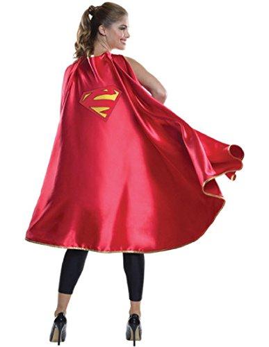 Rubie's Women's DC Superheroes Deluxe Supergirl Cape, Multi, One (Superwoman Costumes Women)