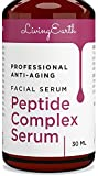 Face Serum Usa - Peptide Serum Complex - Organic & All Natural - Best Anti-Aging Face Serum - Boosts Collagen, Reduce Wrinkles, Repairs Damaged Skin - Made in USA