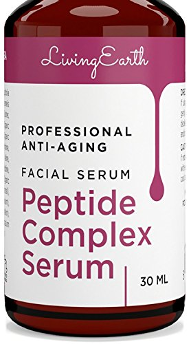 Premium Collagen Peptide Serum - Organic & All Natural - Best Anti-Aging Face Serum - Boosts Collagen, Reduce Wrinkles & Repairs Damaged Skin - Made in USA