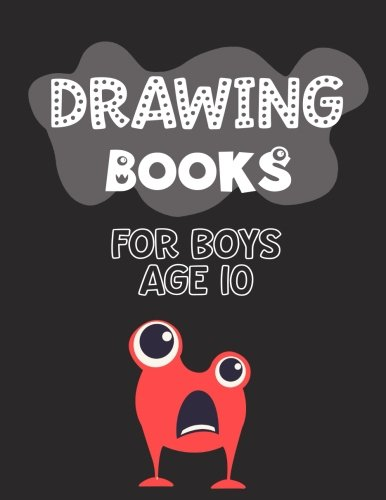 Drawing Books For Boys Age 10: Graph Paper Notebook, 8.5 x 11, 120 Grid Lined Pages (1/4 Inch Squares)