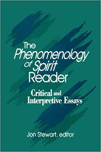 the phenomenology of spirit reader critical and interpretive  the phenomenology of spirit reader critical and interpretive essays suny series in hegelian studies 1st edition