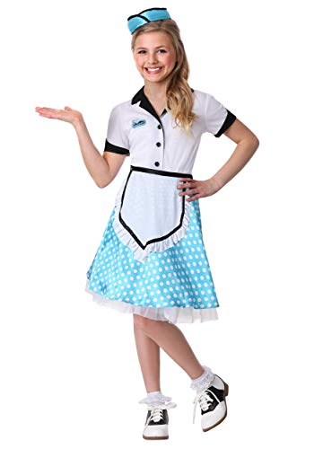 Kid's 1950's Diner Darling Costume X-Large ()
