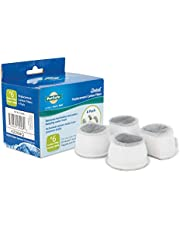 PetSafe Drinkwell Replacement Carbon Filters Compatible with PetSafe Ceramic and Stainless Steel Pet Fountains, for Water Dispensers, 4 Pack - PAC00-13906, 12 Pack - PAC00-16151