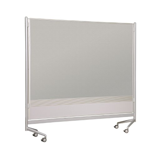 Porcelain D.O.C. Partitions w Laminate (48 in. W x 72 in. H) by Best-Rite