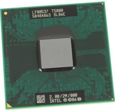 SLB6E Intel Core 2 Duo T5800 Mobile 2.00GHZ 2MB Cache 800MHZ CPU Processor