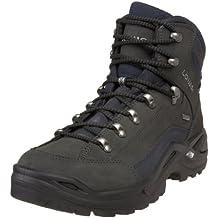 Lowa Men's Renegade GTX Mid Hiking Boot,Dark Grey/Navy,10 M US