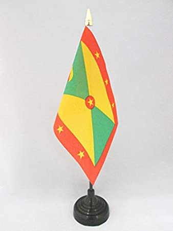 AZ FLAG Bandera de Mesa de Granada 15x10cm - BANDERINA de DESPACHO ...