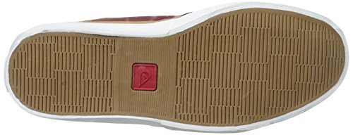 Grain Full Shoe Red Griffin Leather White Quiksilver FG Brown Mens q4W7f