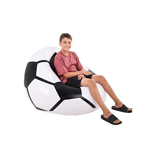 45''X44''X25'' Inflatable Soccer Ball Chair by Bargain World