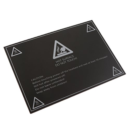 MagiDeal Aluminium Heated Bed 12V 24V Sticker Heatbed Plat 200x200mm for 3D Printer by Unknown
