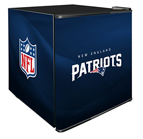 NFL New England Patriots Refrigerated Counter Top Cooler, Small, Blue by SG Merchandising Solution