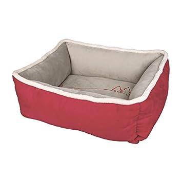 Trixie Xmas Cama Wonderland para Perro Rojo/Gris 60 × 50 cm: Amazon.es: Productos para mascotas