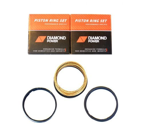 - Diamond Power Piston Rings works with GM Pontiac 3.8L Supercharger V6 OHV