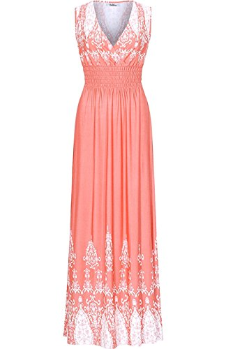 knotted maxi dress - 1
