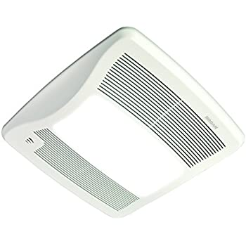 Broan Xb110hl Ultra Green Energy Star Qualified Humidity Sensing Bathroom Fan With Light 110
