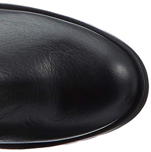 SUA STR Noir Black Bottes Itai Unisa Cavalières Femme Black 5ZwSSE