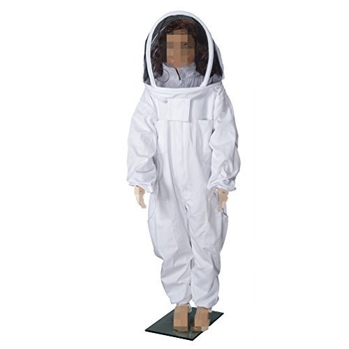Kids' Beekeeping Cotton Protective Suit with Veil