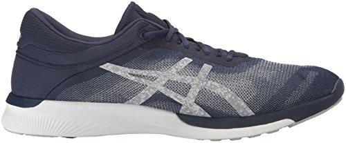 Men Running White Rush Indigo Shoe Fuzex Silver ASICS Blue fdqtx7qv