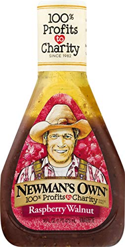 Newman's Own Raspberry & Walnut Salad Dressing, 16-oz.