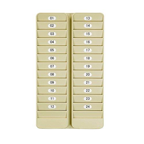 (Pyramid 500-24 Badge Rack, 24 Pocket)
