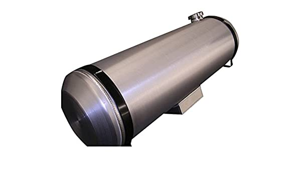 10x40 End Fill Spun Aluminum Round Gas Tank Sandrail-Dune Buggy 13.5 gallon