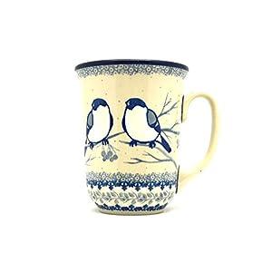 Polish Pottery Mug – 16 oz. Bistro – Unikat Signature U4830