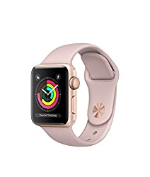 Apple Watch Series 3 - Gps - Gold Aluminum Case With Pink Sand Sport Band - 42mm