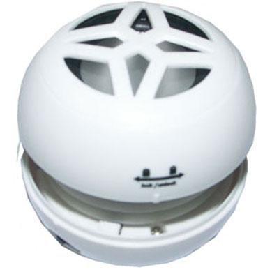 Portable MP3 Speaker White - Mini Goldx