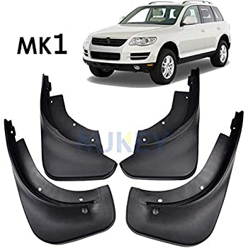 XUKEY Mud Flaps Splash Guards For Ford Explorer 2011-2018 Front and Rear 4pcs