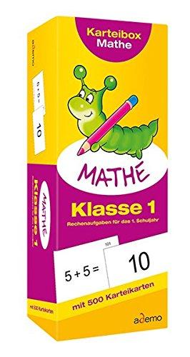Karteibox Mathe, Klasse 1: Rechenaufgaben für das 1. Schuljahr
