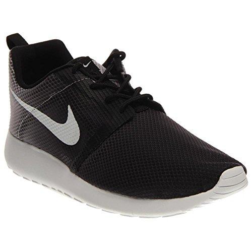 Nike Rosherun Scarpe da Corsa, Unisex Bambino Black/White-Wolf Grey