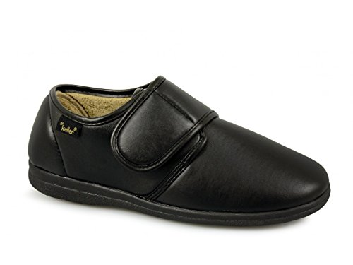 Dr Keller - Zapatillas de estar por casa para hombre negro negro negro - negro
