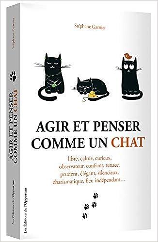 Amazon Fr Agir Et Penser Comme Un Chat Stephane Garnier Livres