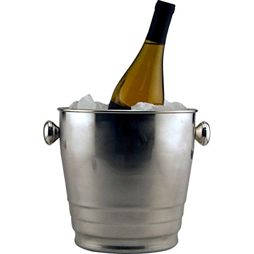 Wine - Champagne Bucket with Pipe Style Stand