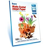 A4 - 90 GSM Matte Coated Paper - 100 Sheets