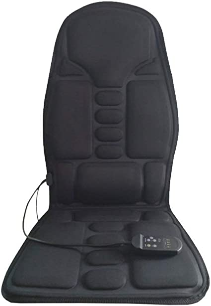 Wakauto Car Seat Driving Cushion Full Back Seat Pillow Body Massage Seat Cushion Driving Seat Cushion Pad for Car Truck Vehicle Automobile