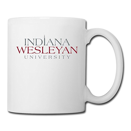 White Indiana Wesleyan University Sab04Fl Ceramic Papa Mug 11oz Unisex Printed On Both Sides (Arkansas Razorbacks White Ceramic)