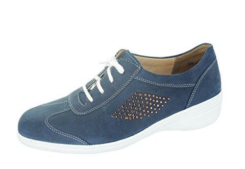 Solidus, chaussures à lacets, forme, hedda 26435–80030, ocean (bleu)