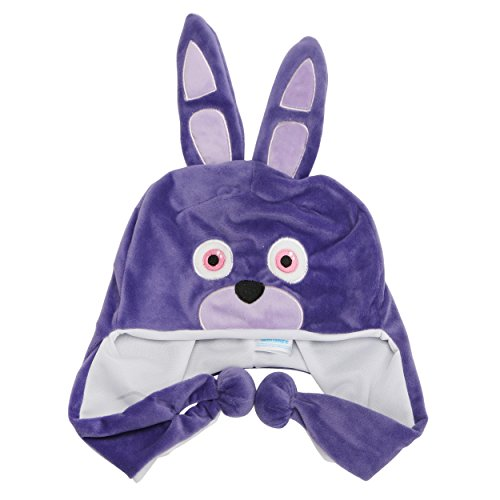 [Five Nights at Freddy's Plush Bonnie Hat for Kids] (Mangle Costume Ideas)