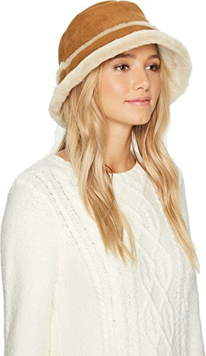UGG Women's Waterproof Sheepskin Bucket Hat Chestnut SM/MD by UGG